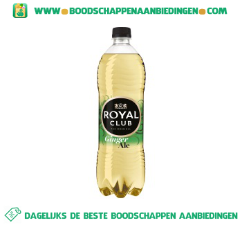 Royal Club Ginger ale aanbieding