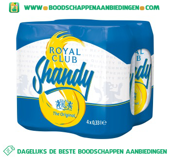 Shandy 4-pak aanbieding
