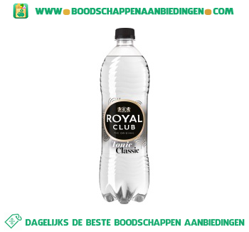 Royal Club Tonic aanbieding