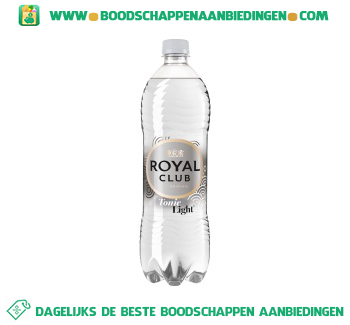 Royal Club Tonic light aanbieding