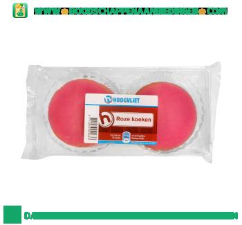 Roze koeken aanbieding