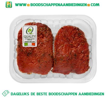 Rundersteak peper 2 stuks aanbieding