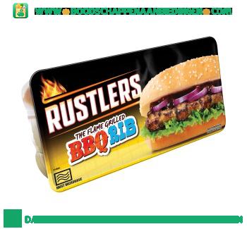 Rustlers BBQ rib aanbieding