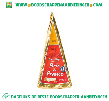 Saint Village Brie de France aanbieding
