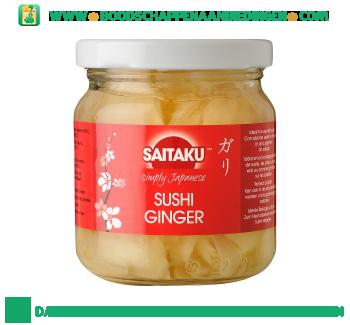 Saitaku Sushi gember aanbieding