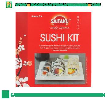 Saitaku Sushi kit aanbieding