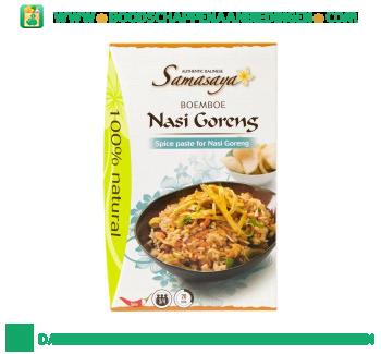 Samasaya Boemboe nasi goreng aanbieding