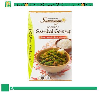 Samasaya Boemboe sambal goreng buncis aanbieding