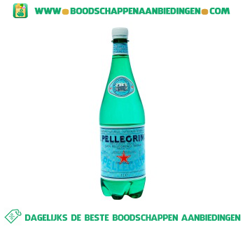 San Pellegrino Mineraalwater koolzuurhoudend aanbieding