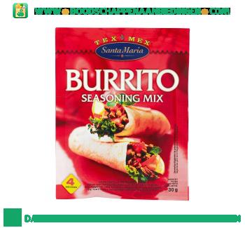 Santa Maria Burrito seasoning mix aanbieding