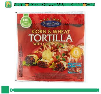 Santa Maria Corn & wheat tortilla aanbieding
