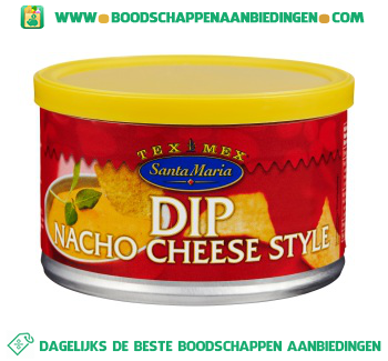 Santa Maria Dip Cheddar cheese style aanbieding