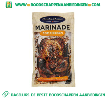 Santa Maria Marinade for chicken aanbieding