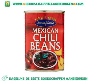 Mexican chili beans aanbieding