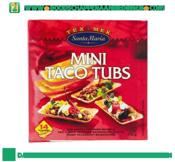 Santa Maria Mini taco tubs aanbieding