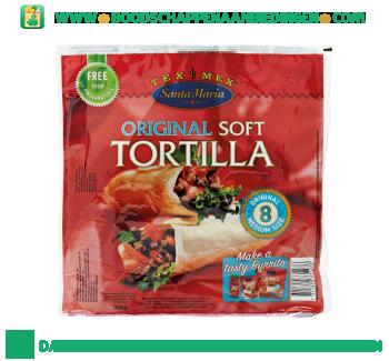 Santa Maria Original soft tortilla aanbieding