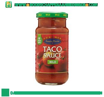 Santa Maria Taco sauce mild aanbieding
