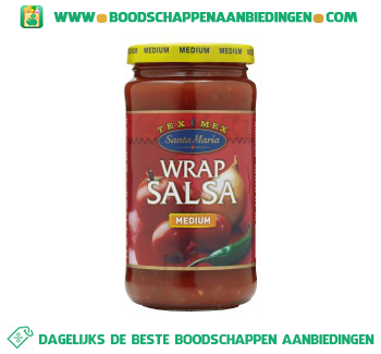 Santa Maria Wrap salsa medium aanbieding