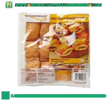 Schapendonk Mini saucijzenbroodjes aanbieding