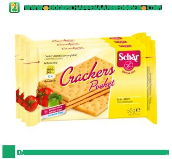 Schär Crackers pocket glutenvrij aanbieding