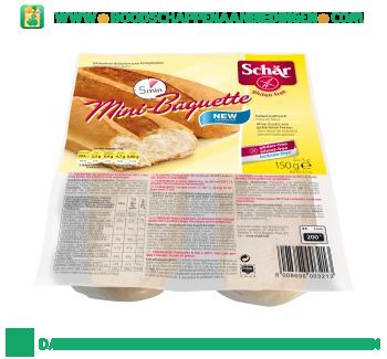 Schär Mini baguette glutenvrij aanbieding