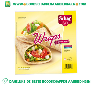 Schär Wraps glutenvrij aanbieding