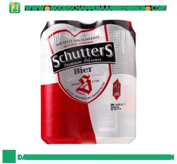 Schutters Pak 4 blikken 0.50 liter aanbieding