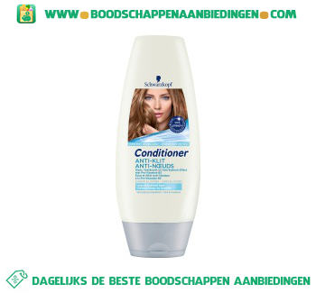 Schwarzkopf Conditioner anti klit aanbieding