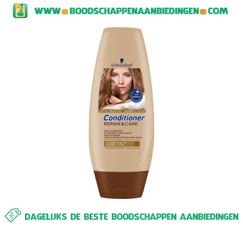 Schwarzkopf Conditioner repair & care aanbieding