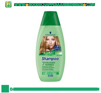 Schwarzkopf Shampoo 7 kruiden aanbieding