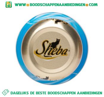 Sheba Luxe menu tonijn aanbieding