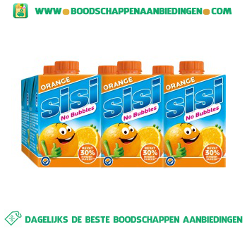 Sisi No bubbles orange 6-pak aanbieding
