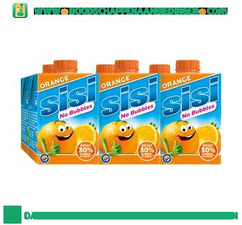 Sisi No bubbles orange 6-pak aanbieding