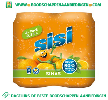 Sisi Orange 4-pak aanbieding