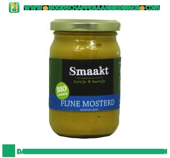 Smaakt Fijne mosterd natrium arm aanbieding