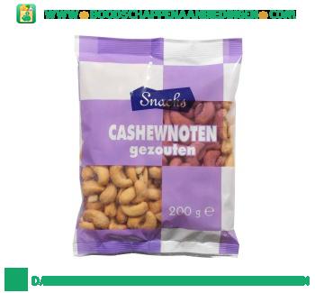 Snacks Gezouten cashewnoten aanbieding