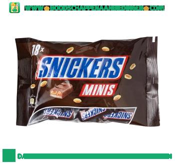 Snickers Mini`s aanbieding
