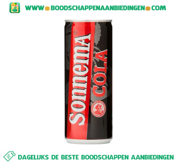 Sonnema Berenburg cola aanbieding