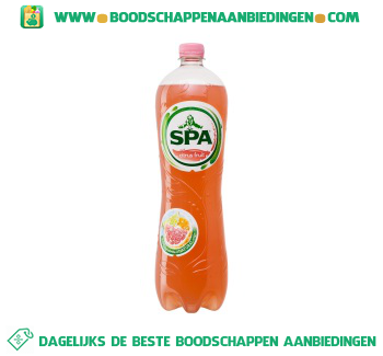 Spa Citrus fruit aanbieding