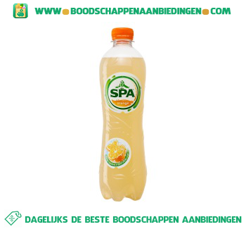 Spa Fruit orange aanbieding