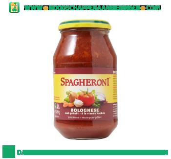 Spagheroni Pastasaus bolognese met gehakt aanbieding
