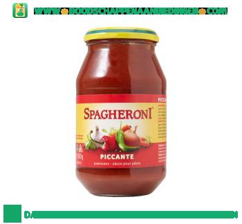 Spagheroni Pastasaus piccante aanbieding