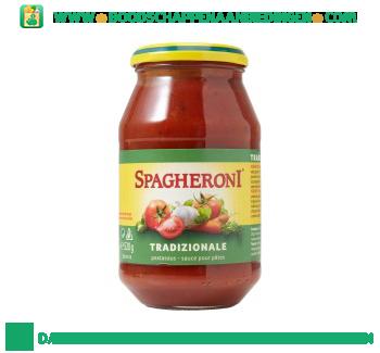 Spagheroni Pastasaus tradizionale aanbieding