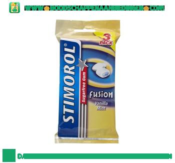 Stimorol Fusion vanilla mint aanbieding