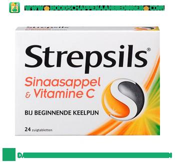 Strepsils SINAASAPPEL & VITAMINE C aanbieding