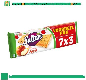 Sultana Fruitbiscuit appel groot aanbieding