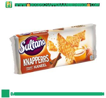 Sultana Knappers kaneel aanbieding