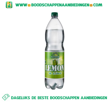 Summit Lemon lime aanbieding