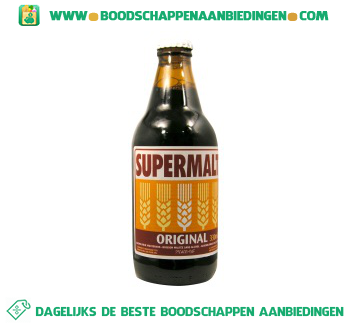 Supermalt Moutdrink aanbieding