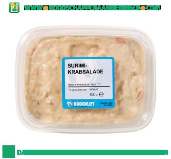 Surimi krabsalade aanbieding